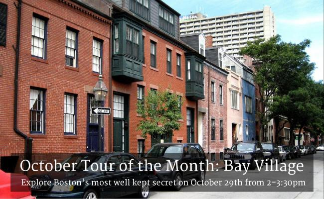 October Tour of the Month: Bay Village, October 19th - 2-3:30 PM