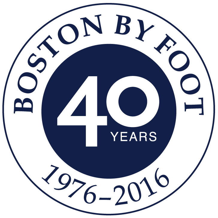 40th anniversary boston by foot