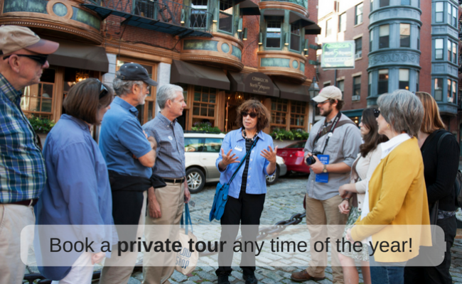 Book a private tour any time of the year!