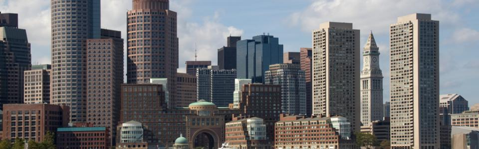 Boston Skyscrapers © Tony Hisgett; Creative Commons License