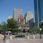 Copley Square, with Trinity Church; Creative Commons License