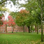 Harvard Yard; Public Domain