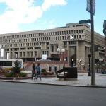 City Hall Plaza, Boston (Photo by Connie, 2007)