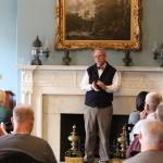 Robert Allison delivers a lecture on Colonial Boston