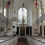 Old North Church Interior